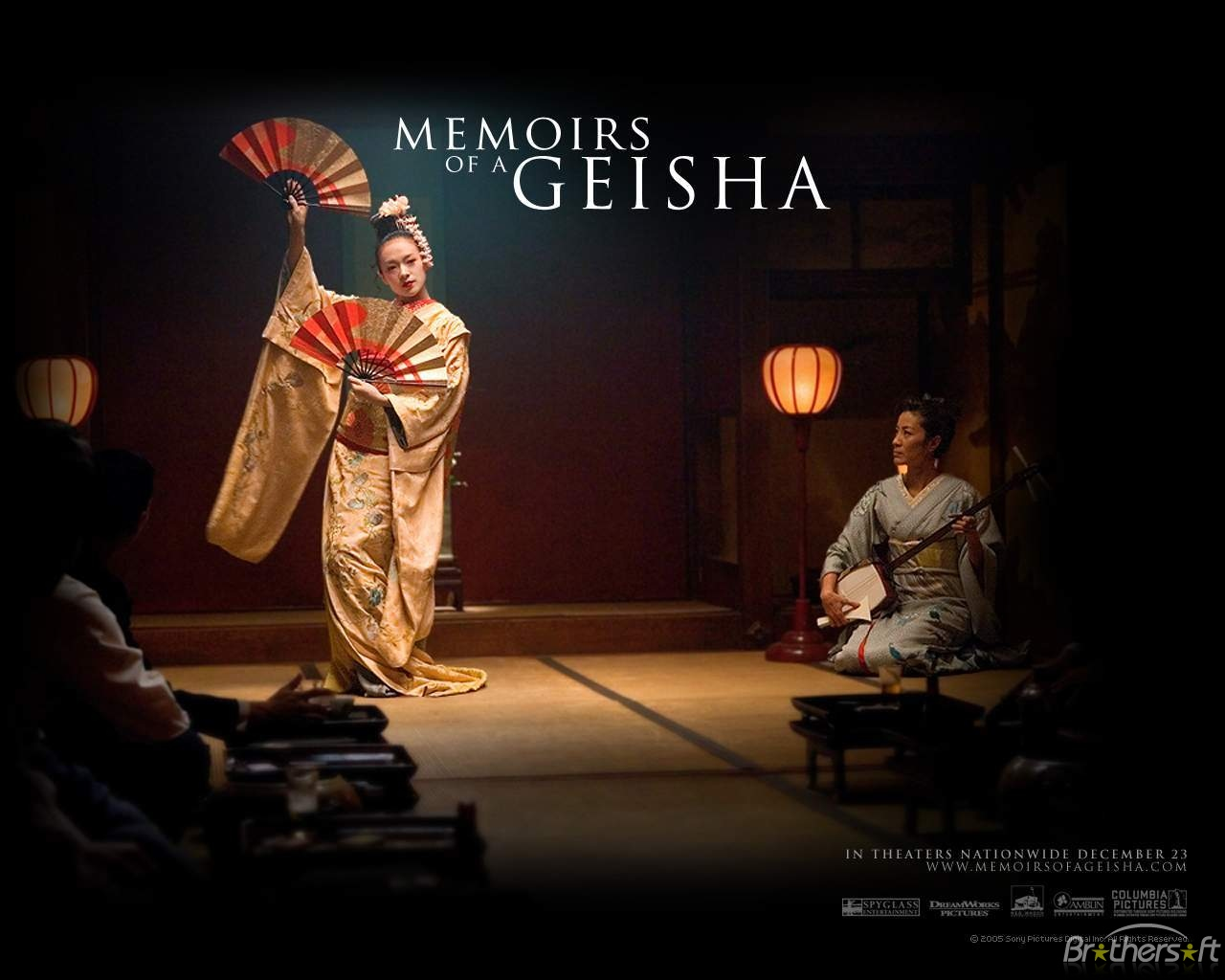 Download Memoirs of a Geisha Wallpaper Memoirs of a Geisha 1280x1024
