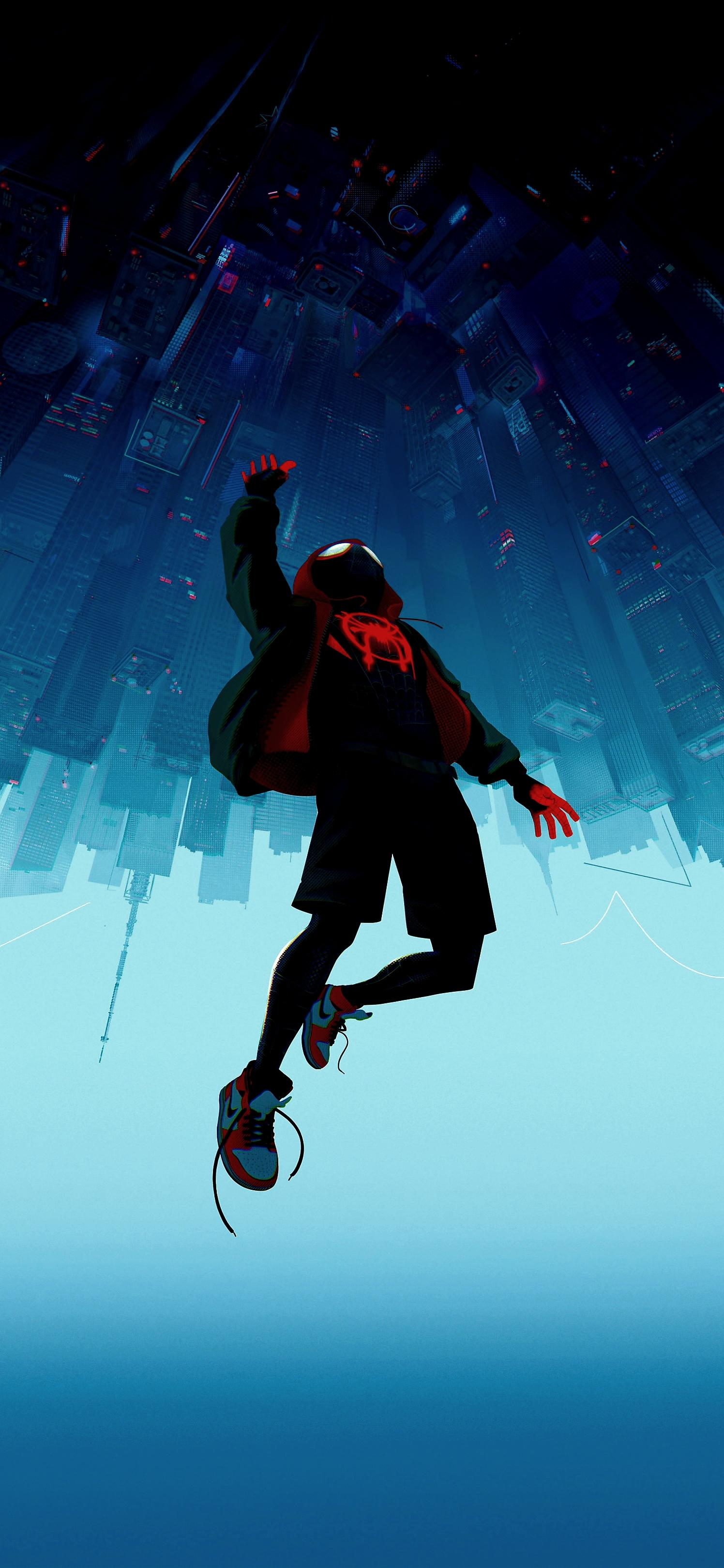 Spiderman in the spiderverse again The original wallpaper wasnt 1496x3238