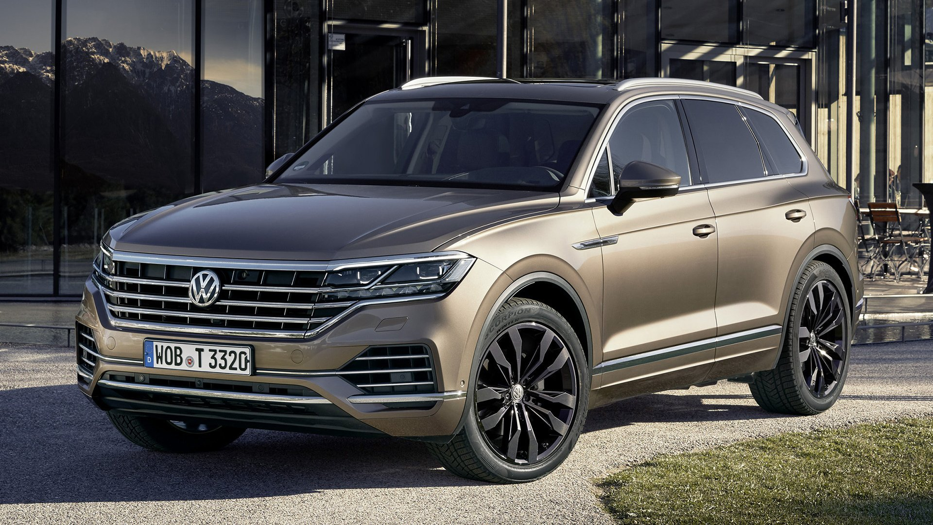 2018 Volkswagen Touareg HD Wallpaper Background Image 1920x1080