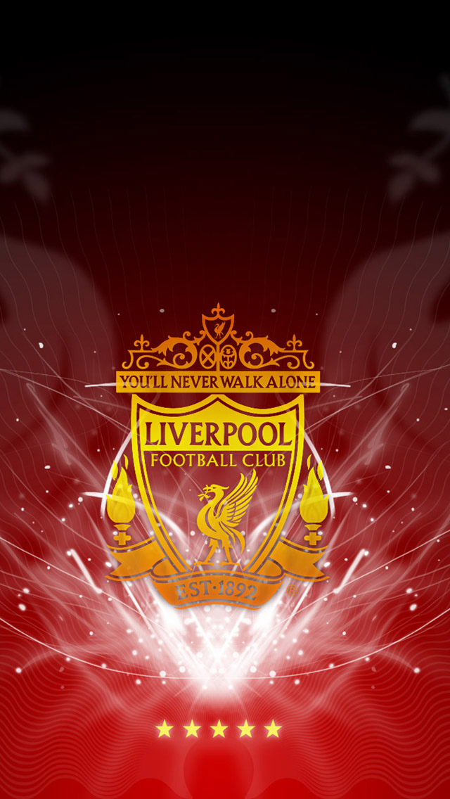 Liverpool FC Logo iPhone 5 Wallpaper iPhone 5 Wallpapers 640x1136
