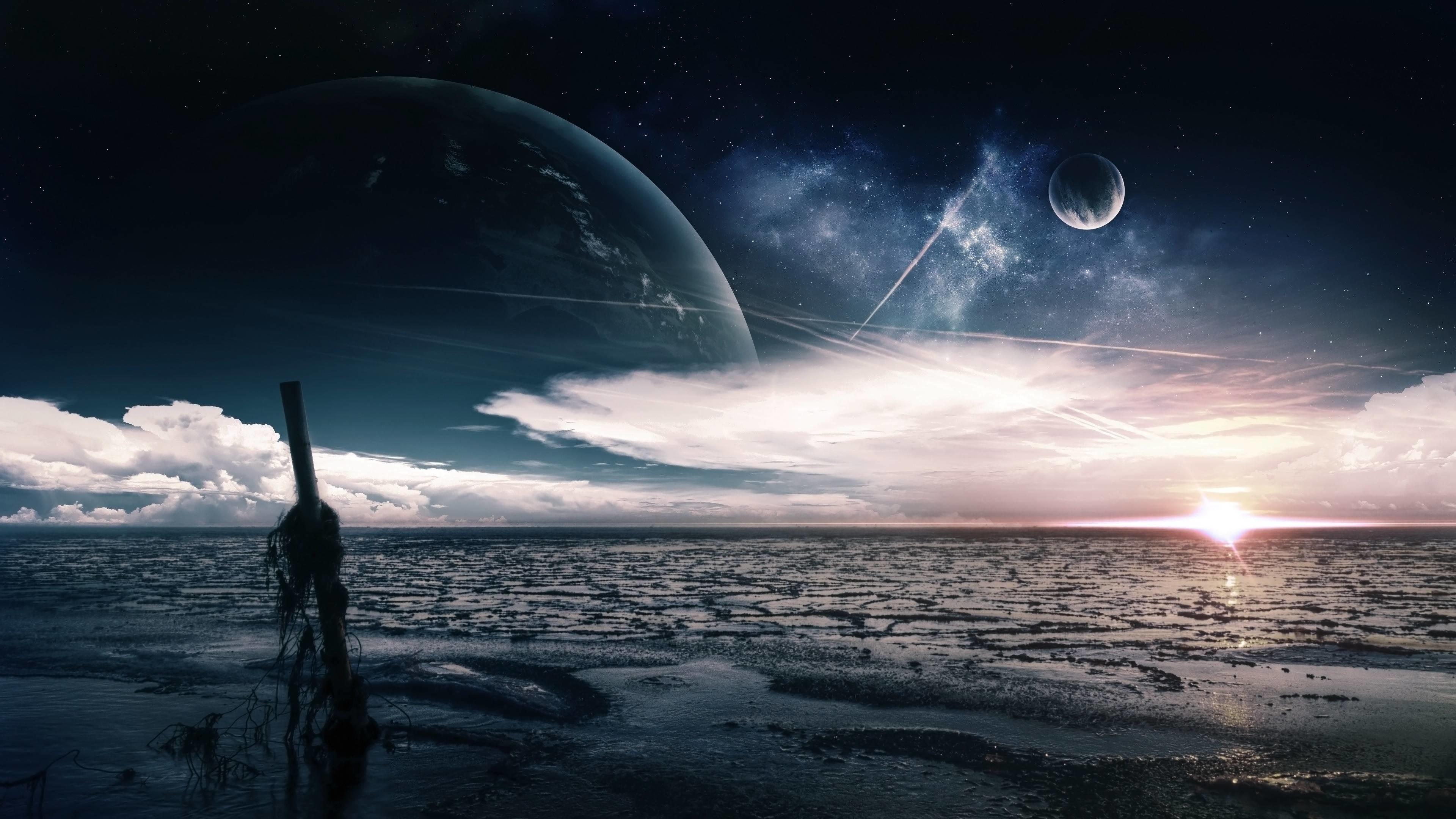 Alien Planet Wallpaper 3840x2160