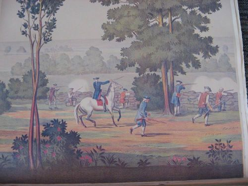Full room vintage wallpaper murals by The Schmitz Horning Co   Retro 500x375