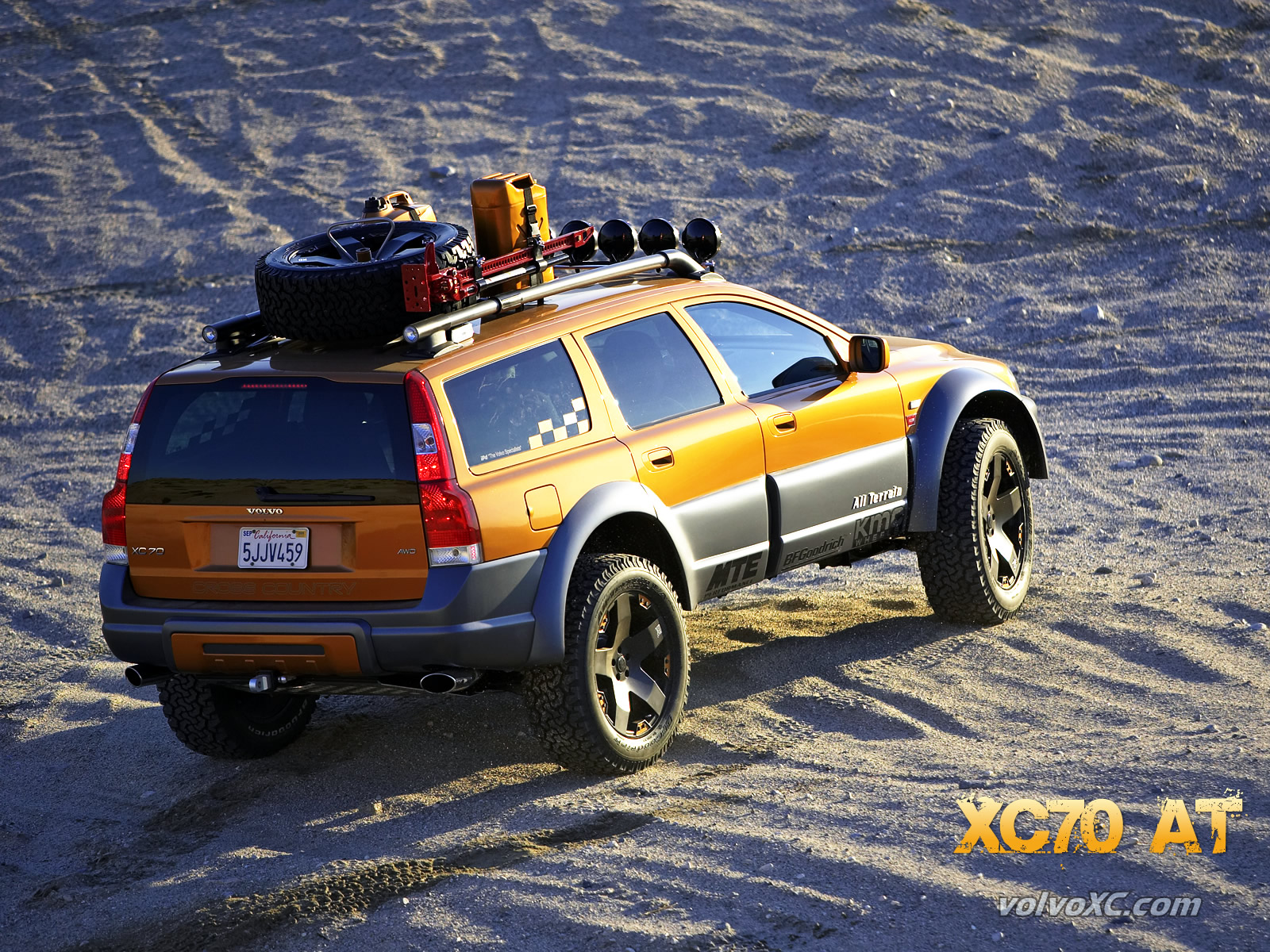 Volvo Cross Country Resources XC70 AT Wallpaper 1600x1200