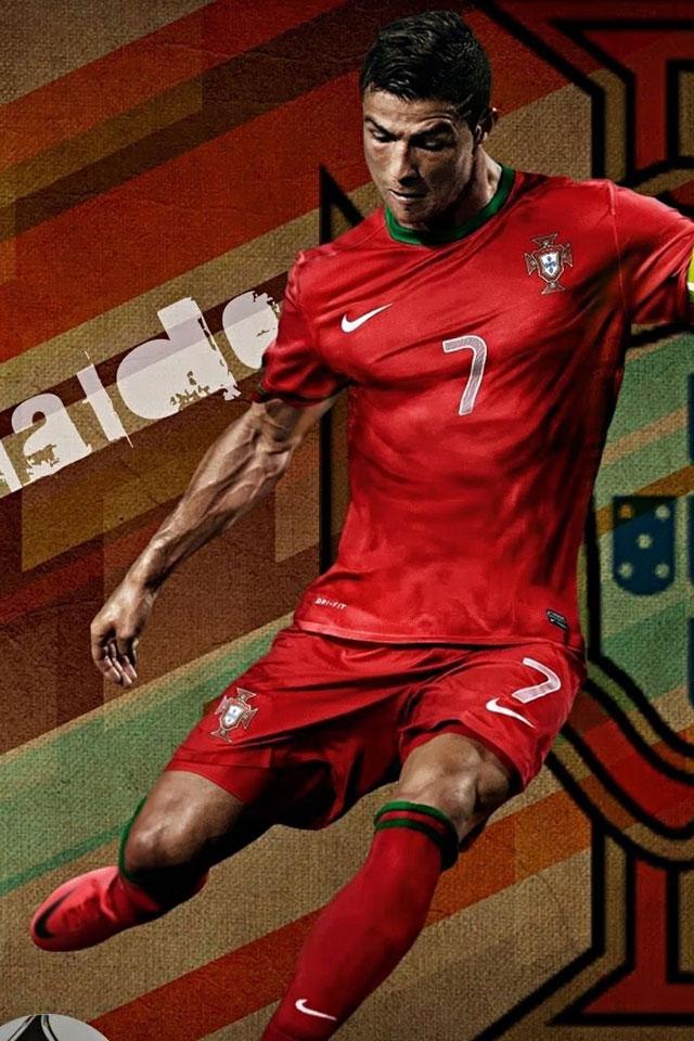 Famous Footballer Cristiano Ronaldo   123mobileWallpaperscom 640x960