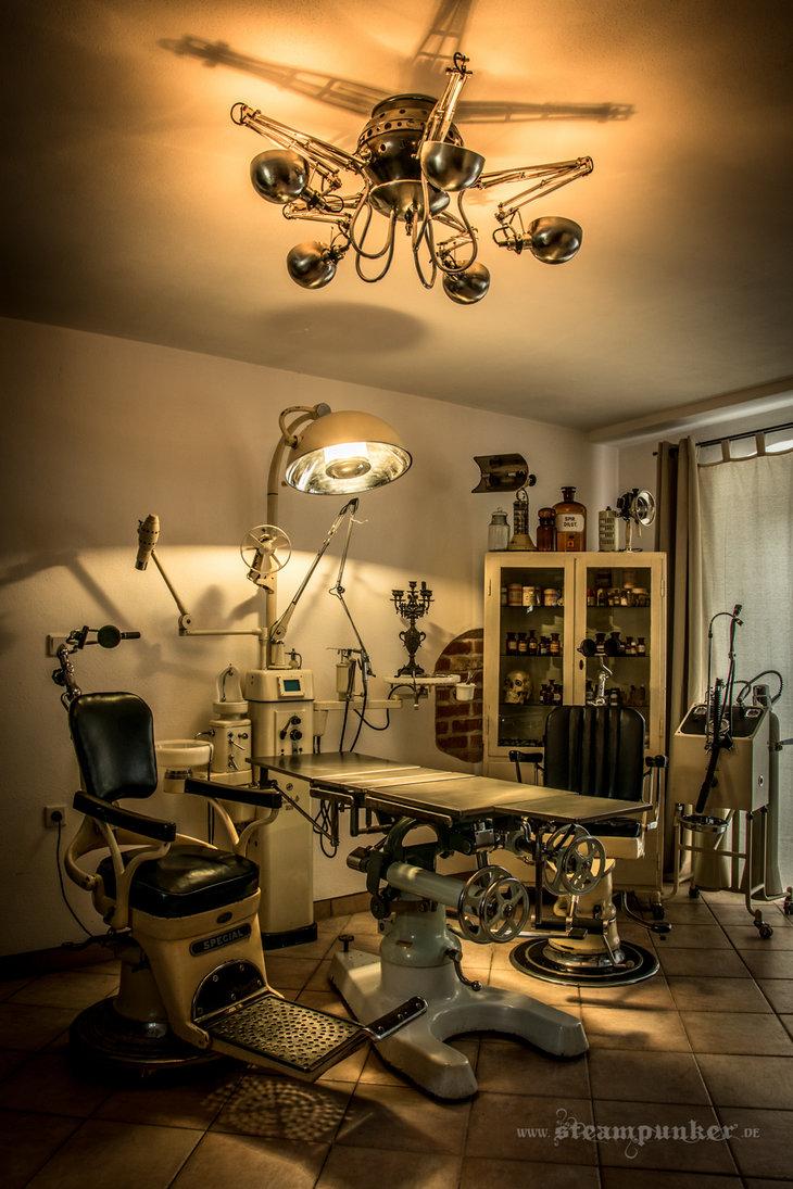Steampunk room by steamworker 730x1095