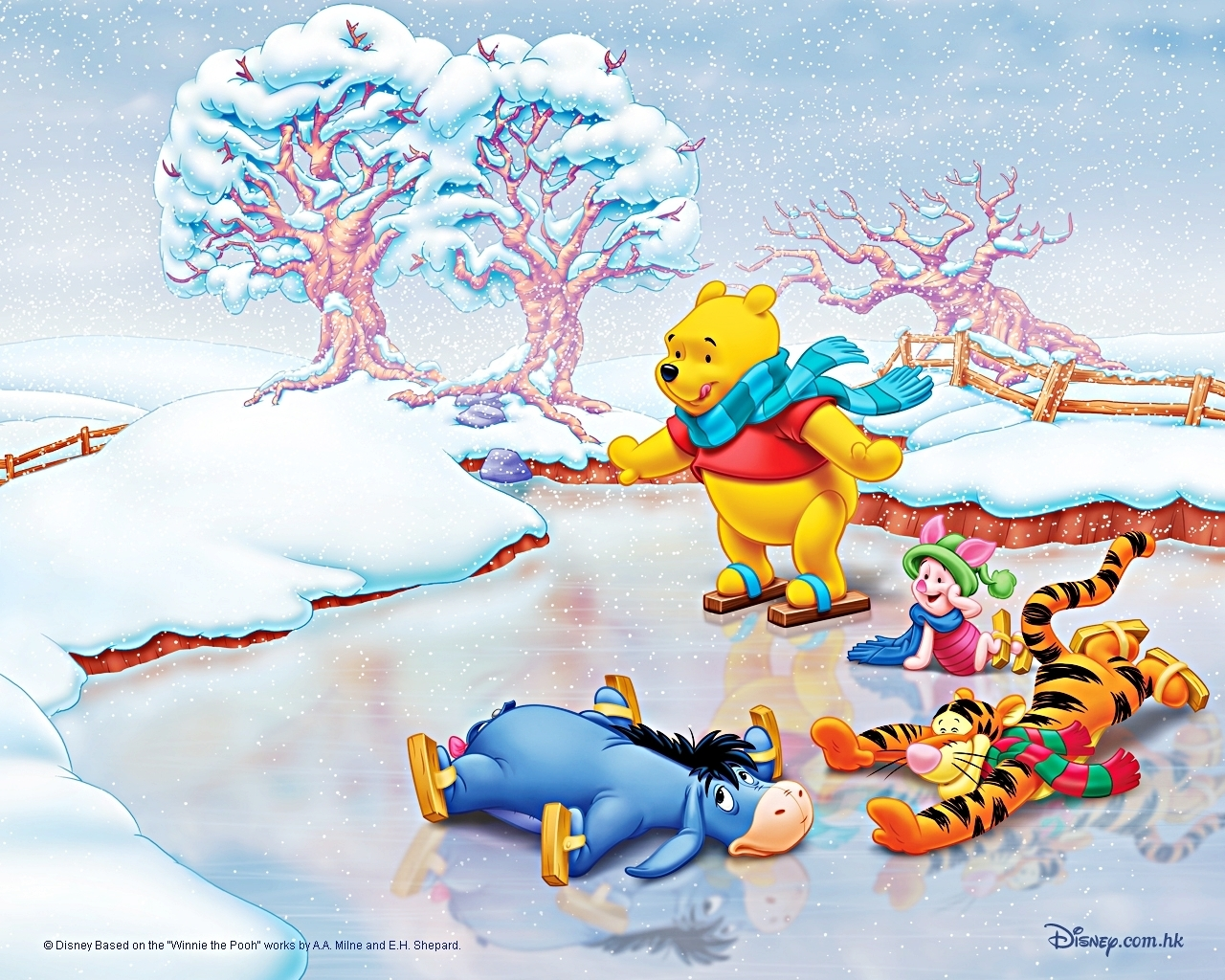 Walt Disney Wallpapers   Winnie the Pooh and Friends 1280x1024
