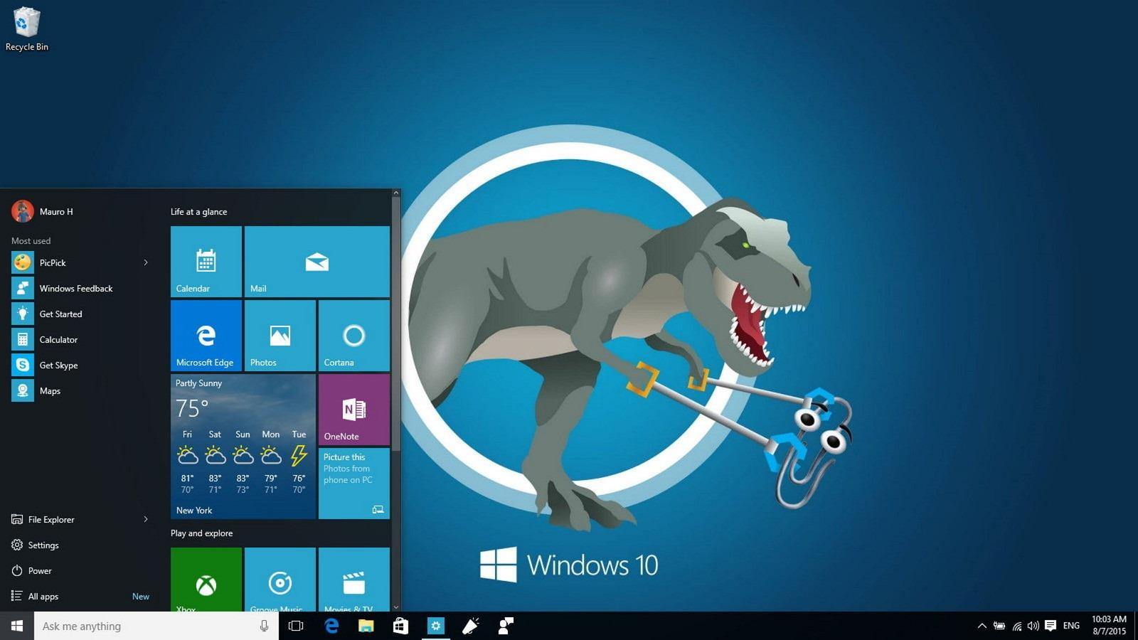 windows,  microsoft, anniversary, update, кот  № 1182264  скачать