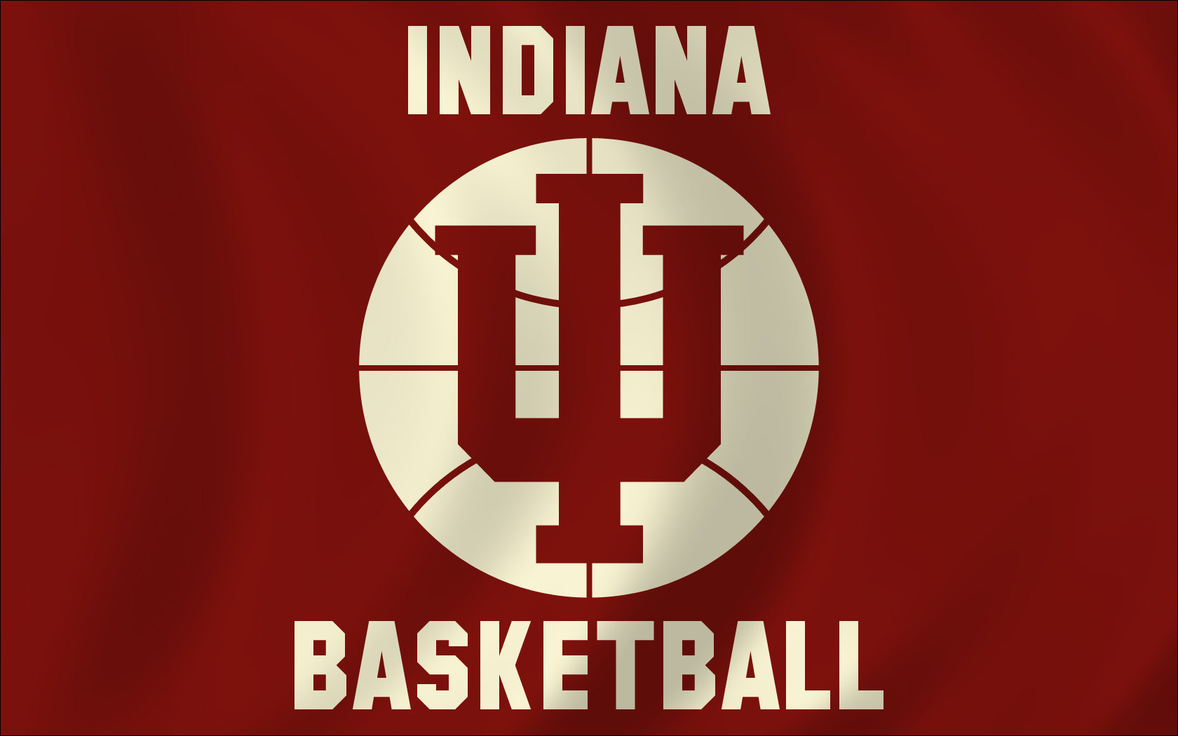 Indiana Basketball Flag by monkeybiziu 1680x1050