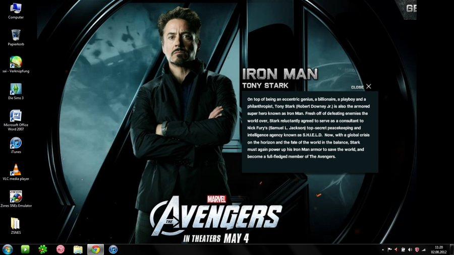 69 Tony Stark Wallpapers On Wallpapersafari