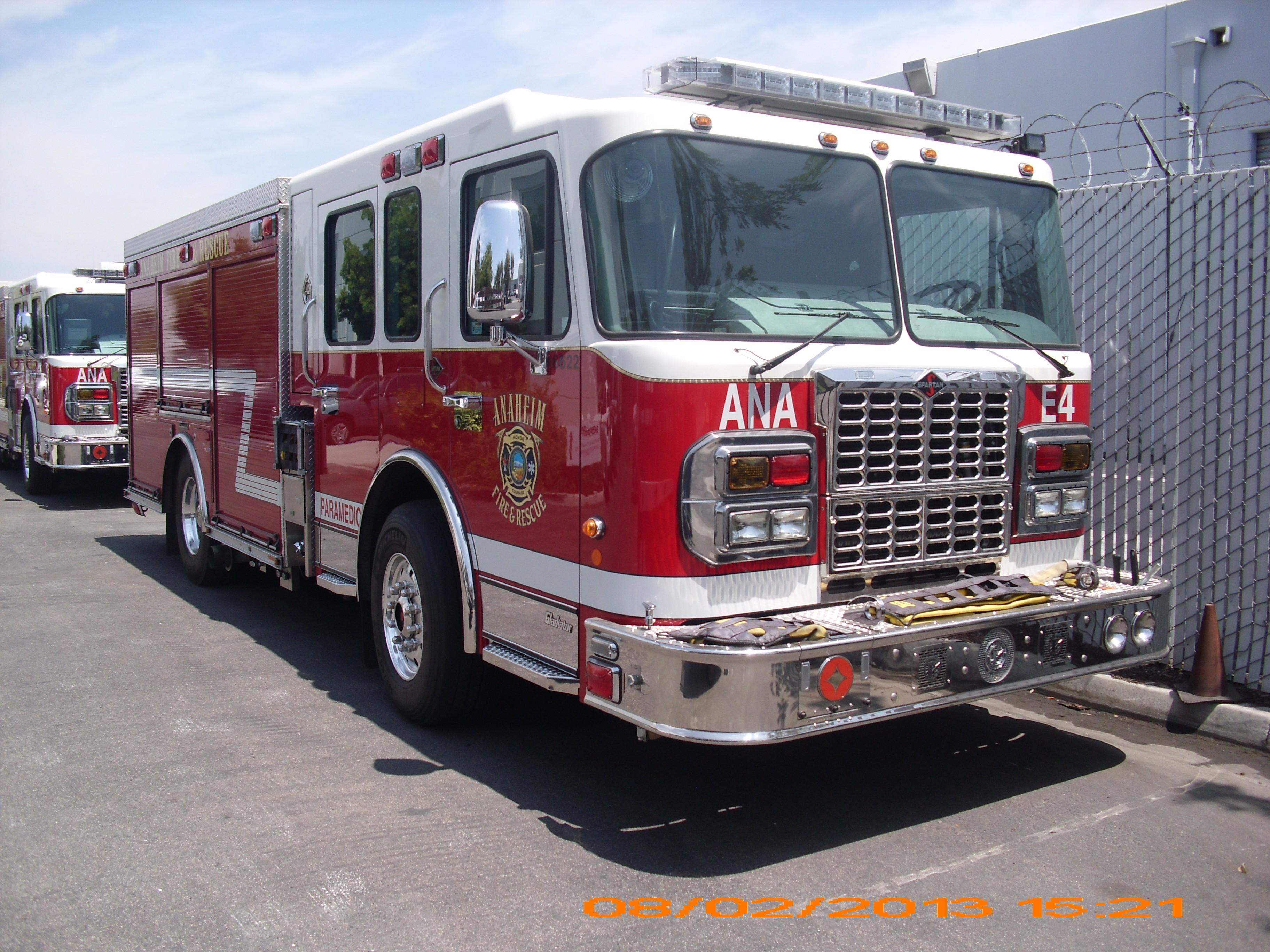 Wallpaper ANAHEIM CALIFORNIA FIRE TRUCK Truck Emergency Fire Kool 3648x2736