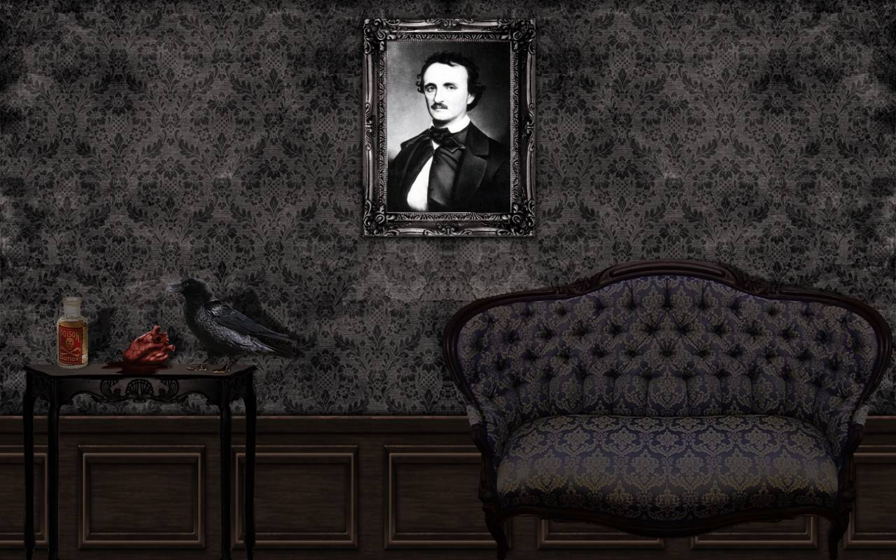Edgar Allan Poe Wallpaper 8 Wallpaper for Edgar Allan Poe Some 1280x800