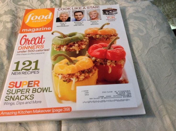 how to cancel food network magazine