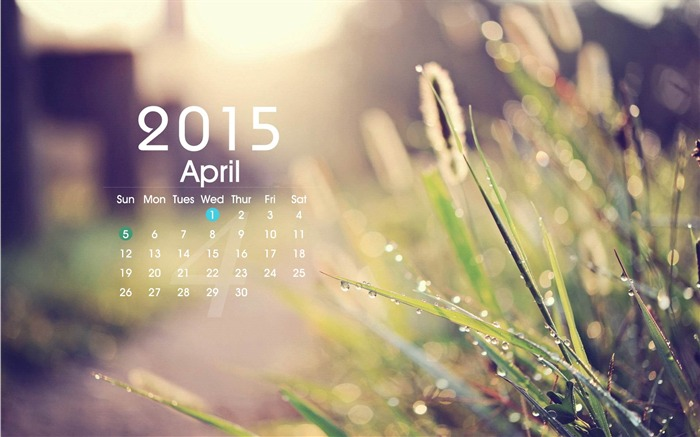 April 2015 Calendar Wallpaper HD Pictures and JPG GIF PNG Images 700x437
