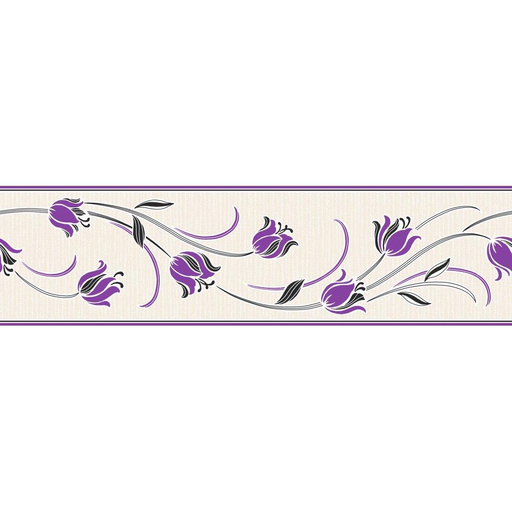 Flower Borders Wallpaper Wallpapersafari