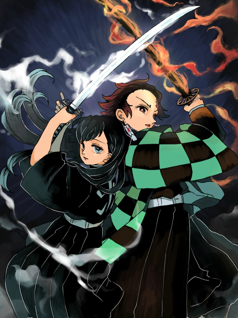 AnimeDemon Slayer Kimetsu No Yaiba 768x1024 Wallpaper ID 768x1024