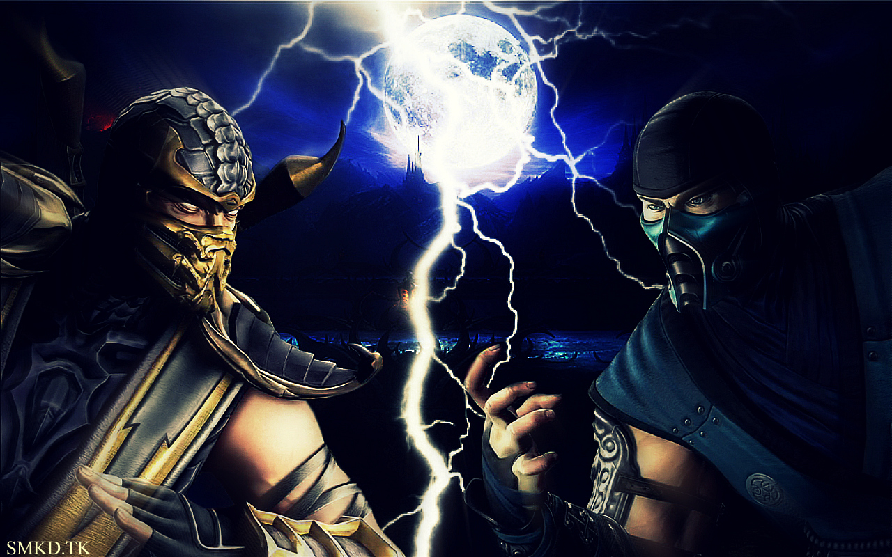 Scorpion Mortal Kombat 9 FOTOS 3D 1280x800