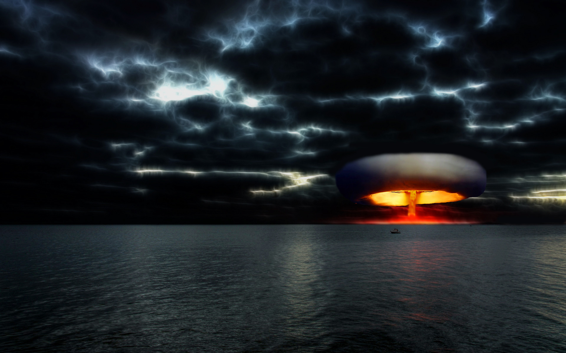Nuclear Bomb Explosion Wallpaper Images Pictures   Becuo 1920x1200