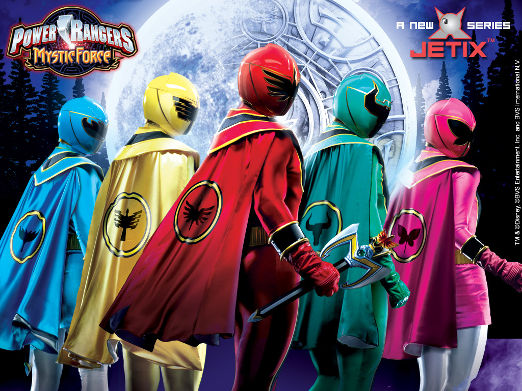 Power Rangers Jungle Fury Wallpaper 1024x768
