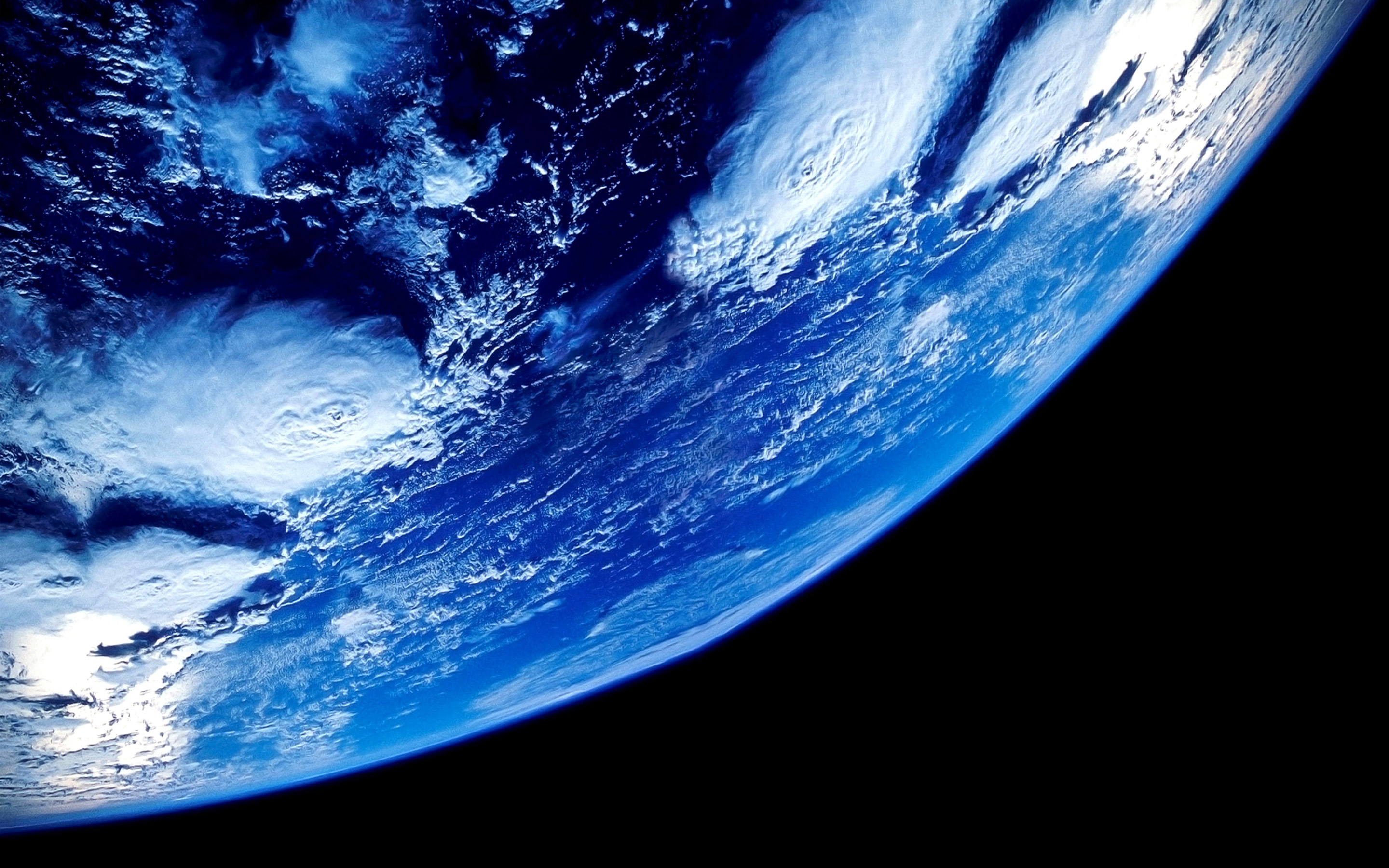 Earth From Space HD Wallpaper 2880x1800