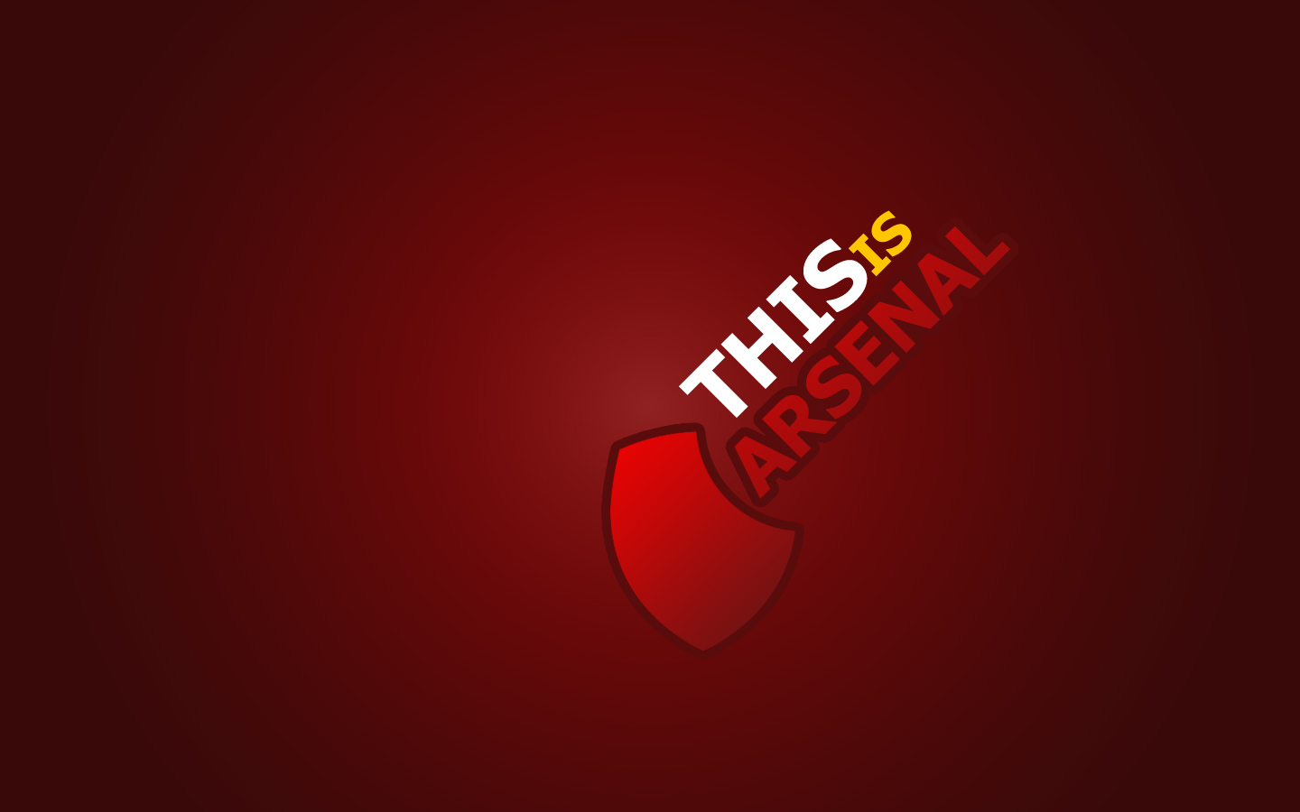 Arsenal FC Logo Exclusive HD Wallpapers 1068 1440x900