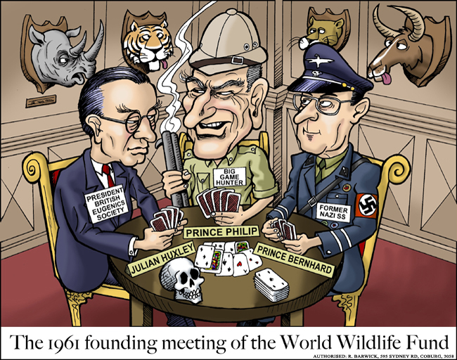 Cartoons Collection Founding Fathers Of WWF 650x512