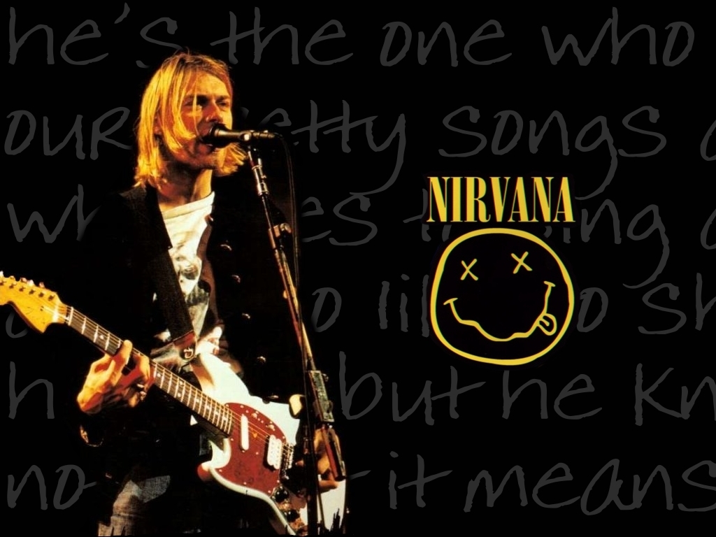 Kurt Cobain Nirvana 1024x768