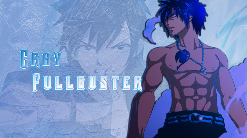 Wallpaper Fairy Tail   Gray by RaaTomazini 1024x576