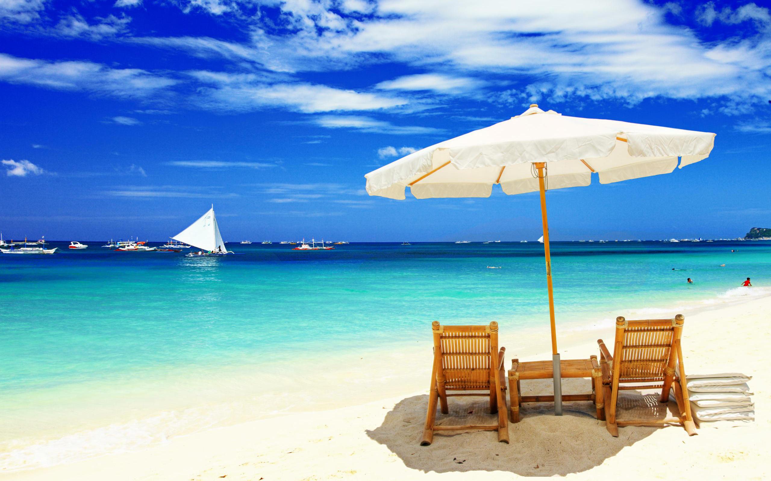 Free Download Wonderful Beach Hd Wallpaper Nature Amp