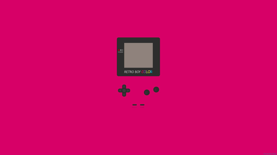 game boy wallpaper red by atleselbek d340q9kjpg 900x506