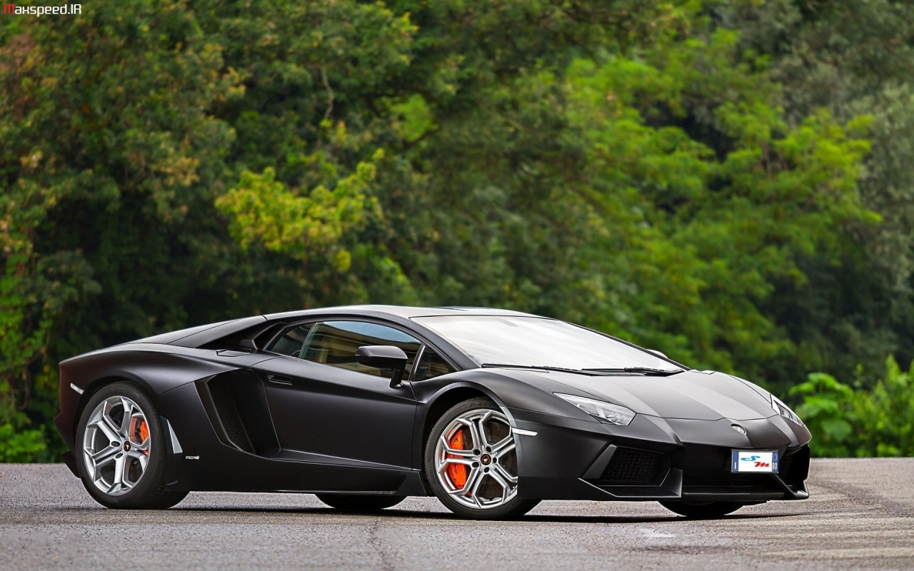 44 Black Lamborghini Aventador Wallpaper On Wallpapersafari