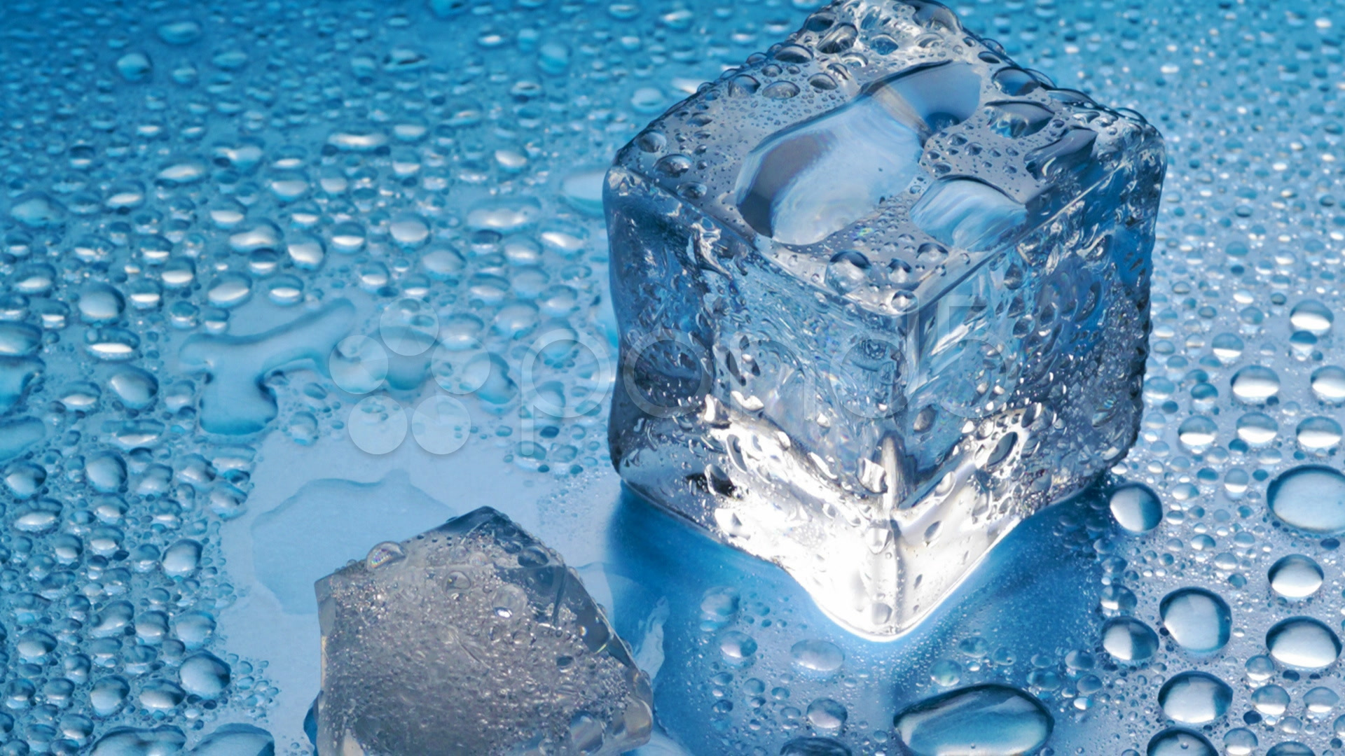 Melting ice cube wallpaper Wallpapers Crazy 1920x1080