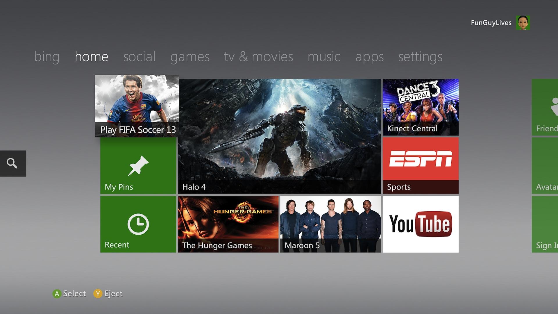 Free Download Xbox 360 Dashboard Update Oh Hey Internet Explorer