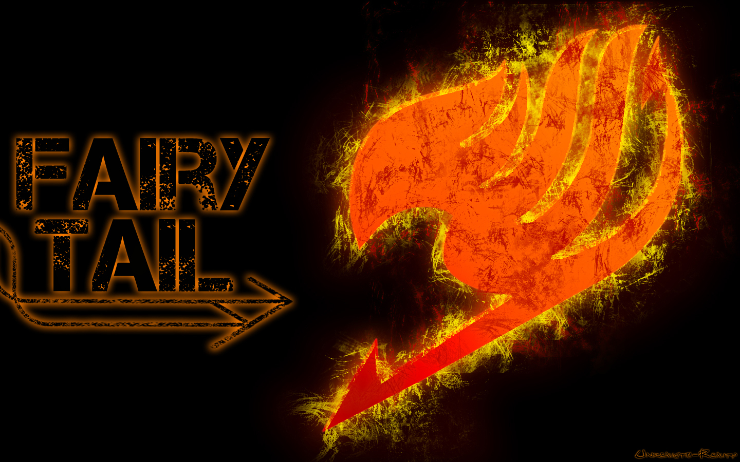 Fairy Tail Logo   Fairy Tail Wallpaper 9928326   Page 8 1440x900