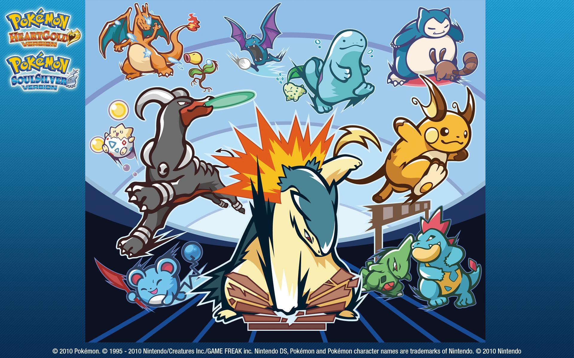 HGSS Wallpaper   Pokemon Soulsilver Wallpaper 15728633 1920x1200