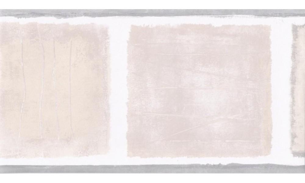 Home Grey Beige Squares Wallpaper Border 1000x600