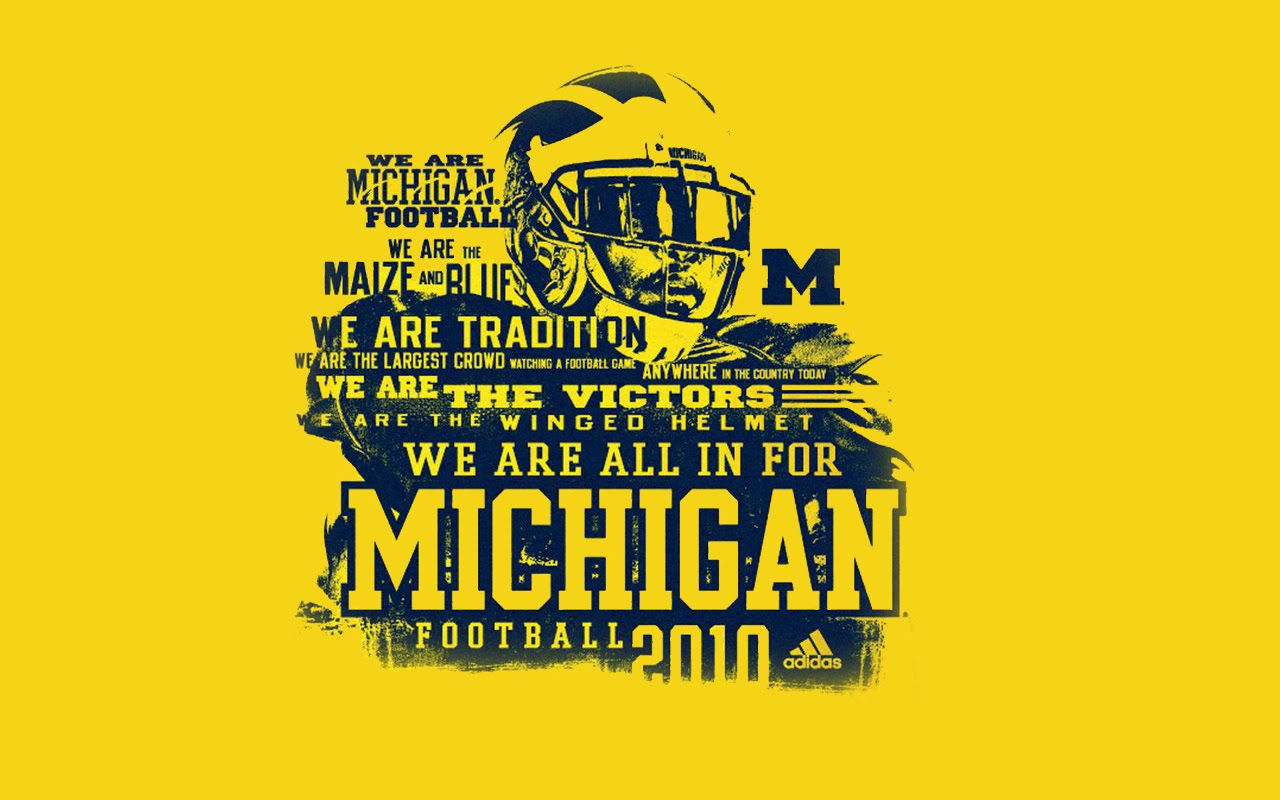 michigan wolverines football desktop wallpaper 1280x800