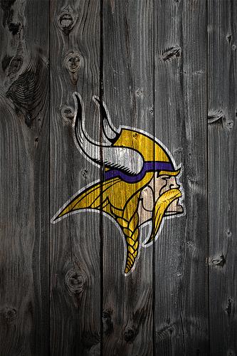Minnesota Vikings Wood iPhone 4 Background Flickr   Photo Sharing 333x500