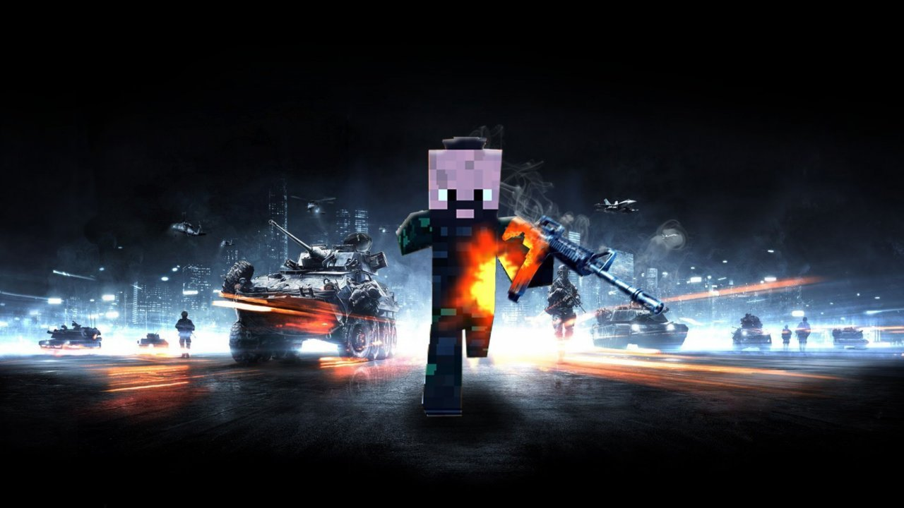 Battlefield 3 Minecraft Minecraft Texture Photo Realism 1280x720