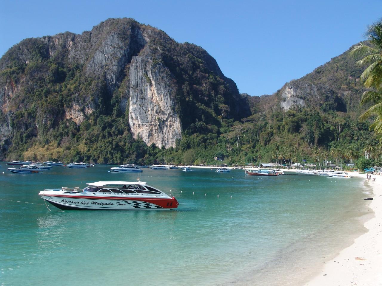 phi phi beach thailand hd wallpaper phi phi beach thailand 1280x960