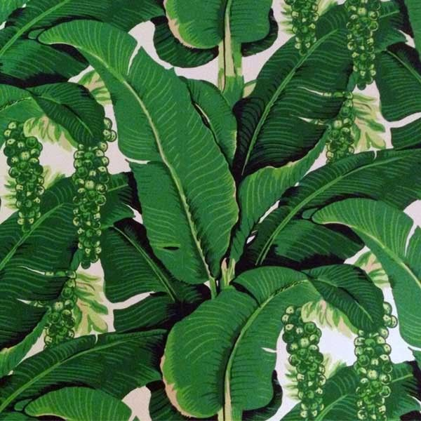 Draper Brazillance WallpaperPalms Beach Carleton Varney Bananas 600x600