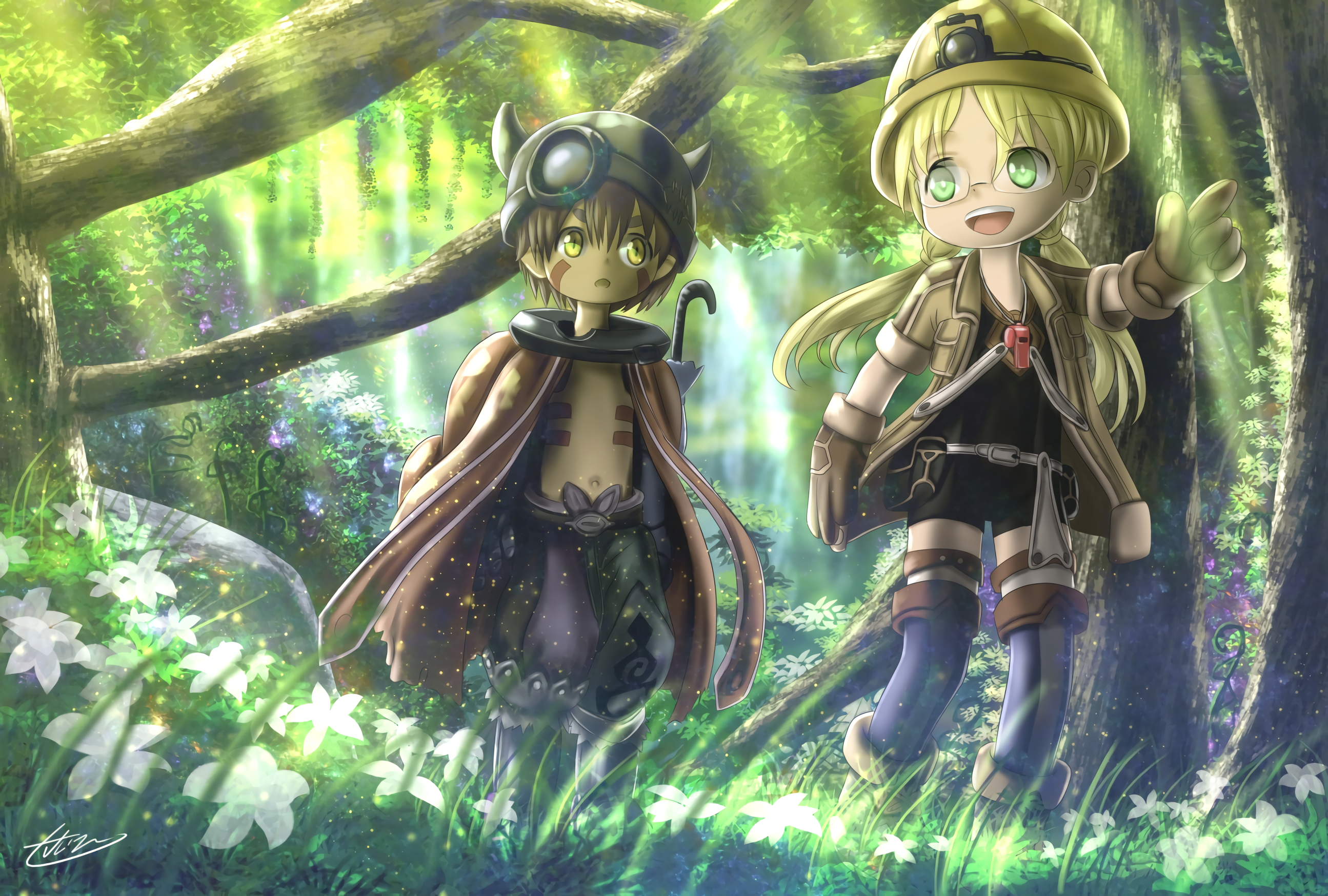 65 Made In Abyss HD Wallpapers Background Images 2590x1748
