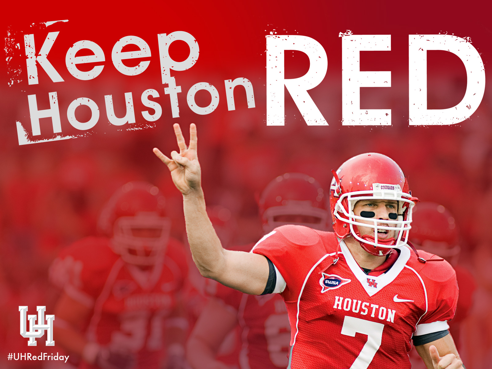Show your pride with a Case Keenum computer background 1600x1200