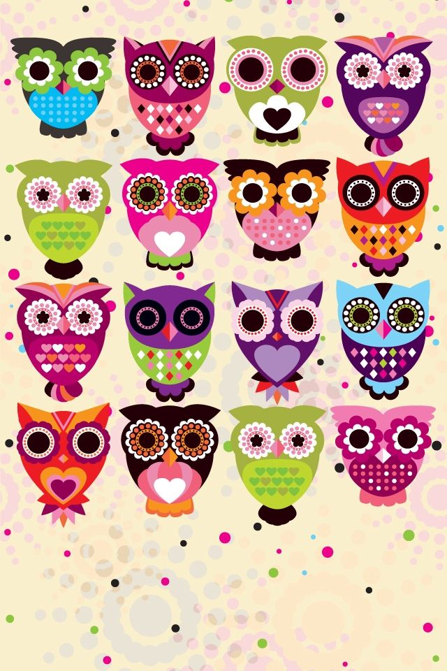 cute owl fall themed wallpapers - photo #21
