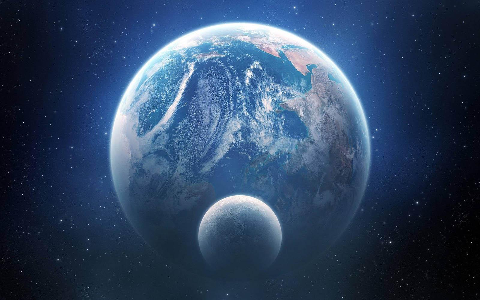 EarthAndMoonWallpapers01 Earth And Moon Wallpapers 1600x1000