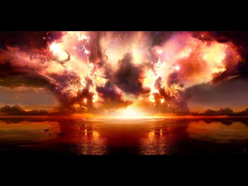 Explosion Wallpaper Background Theme Desktop 1010x758