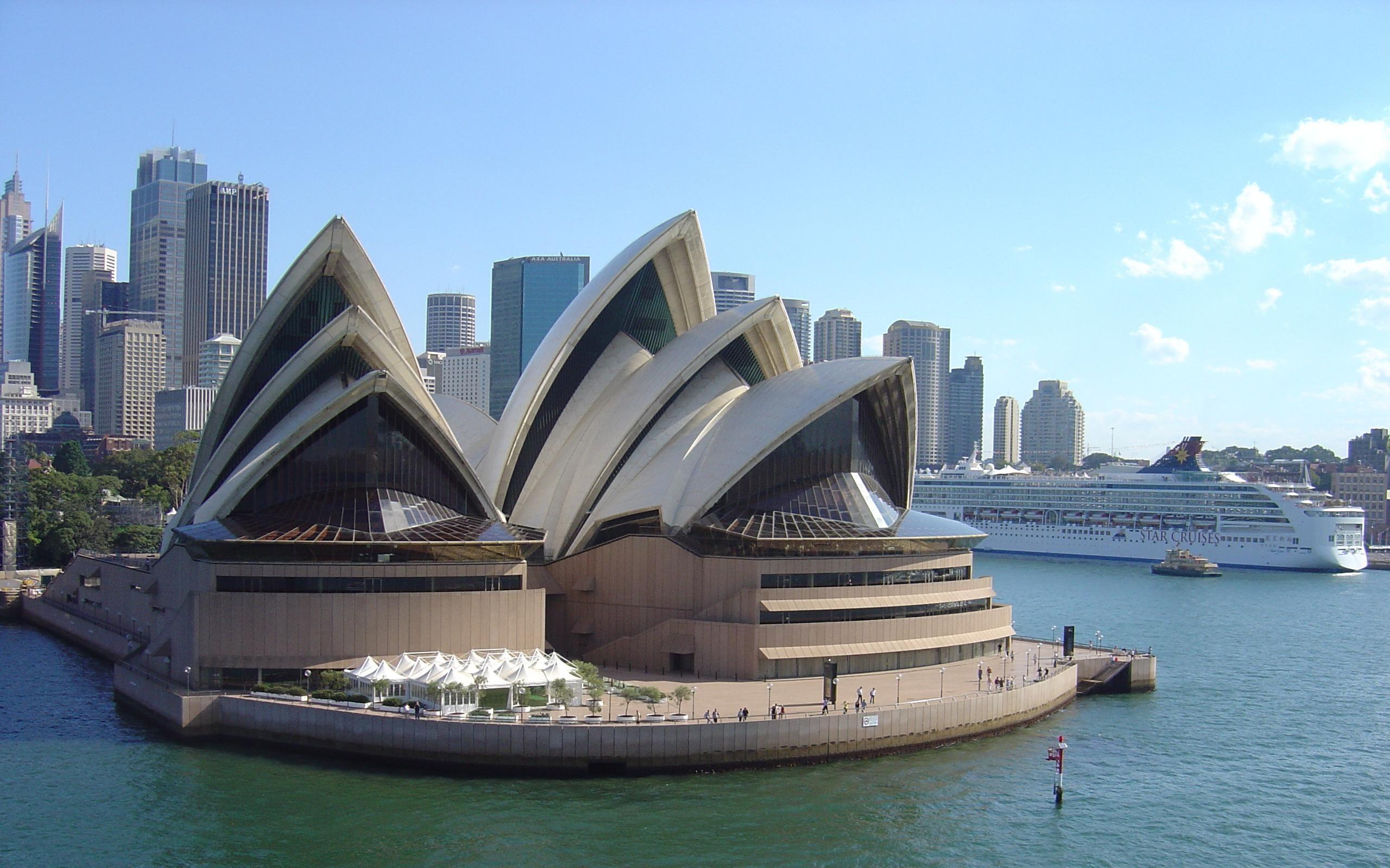 Sydney Opera House Wide Wallpaper Travel HD Wallpapers 2560x1600