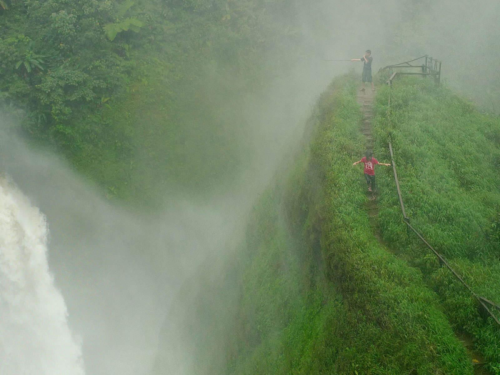 45 rainy forest wallpaper on wallpapersafari - Rainy nature hd wallpaper ...