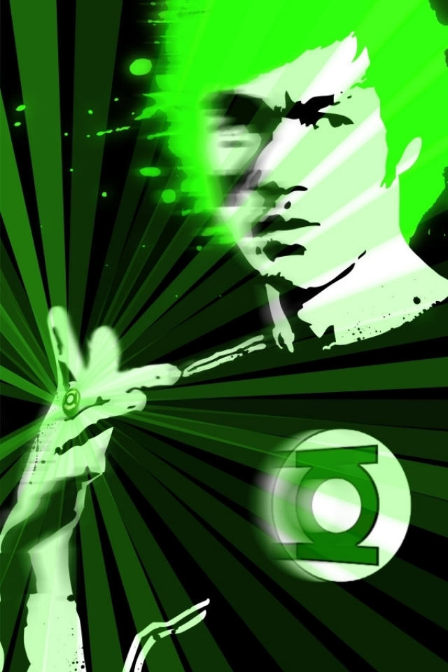 bruce lee green lantern 1440x900 wallpaper High Resolution Wallpaper 640x960