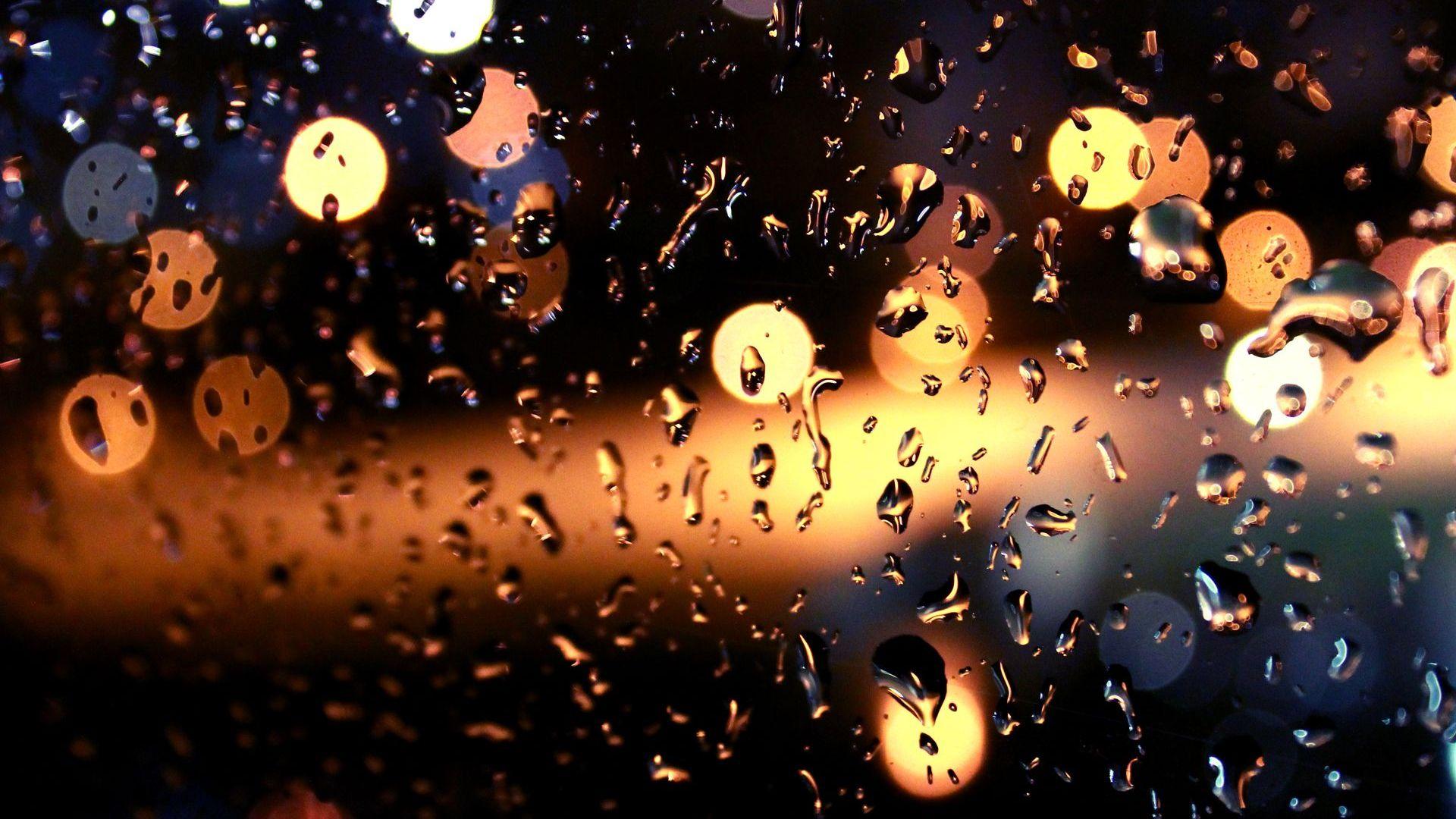 Raindrops Wallpaper for Windows 7 - WallpaperSafari