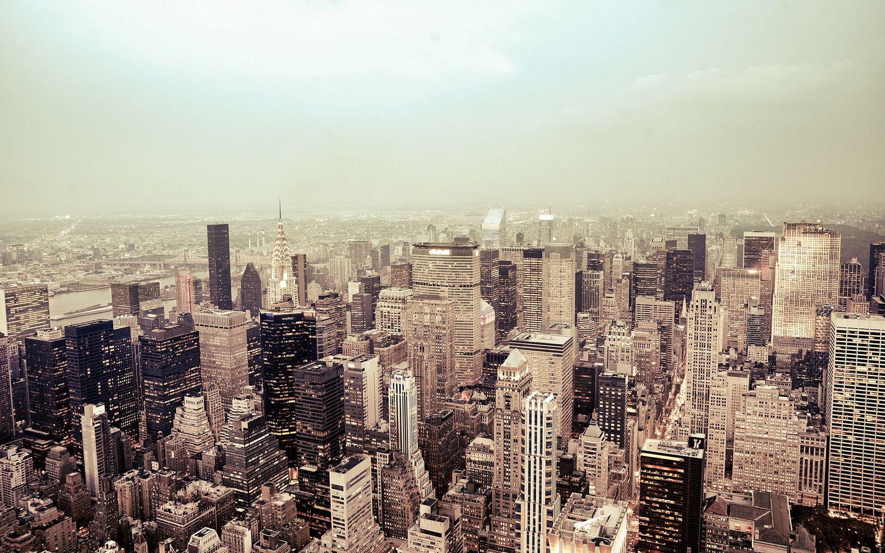 Download New York cityscape wallpaper 1728x1080
